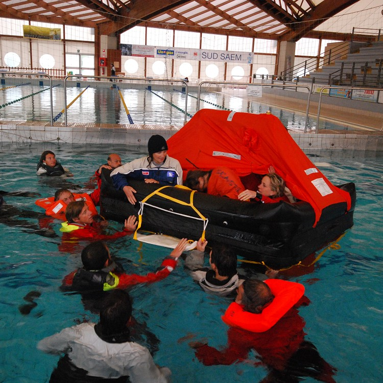 ISAF Offshore Personal Survival Training Course World Sailing